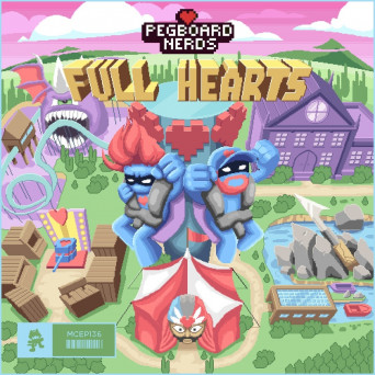 Pegboard Nerds – Full Hearts EP