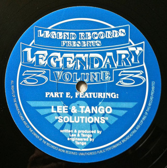 Lee, Tango & Gwange – Legendary Volume 3