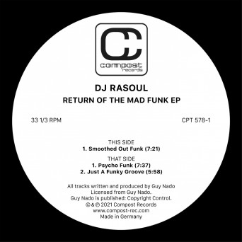 Dj RaSoul – Return of the Mad Funk EP